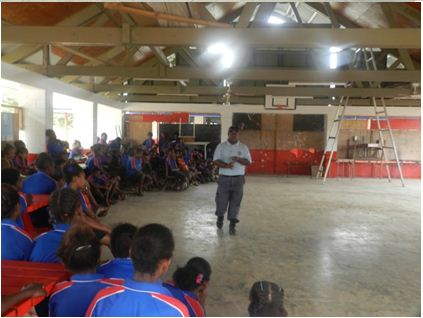 Crime Prevention Awareness at Anamburu School