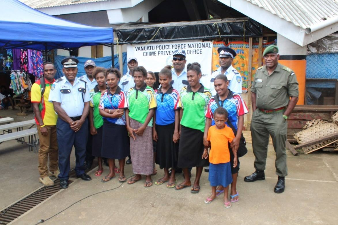 Crime Prevention Awareness At The Port Vila Market House