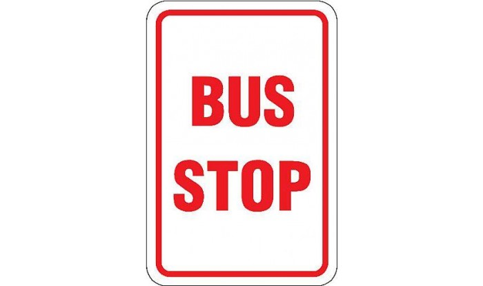 bus stop sign 943 1
